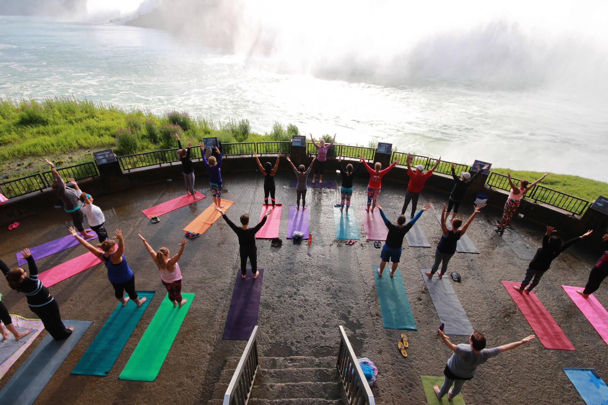 niagara falls yoga