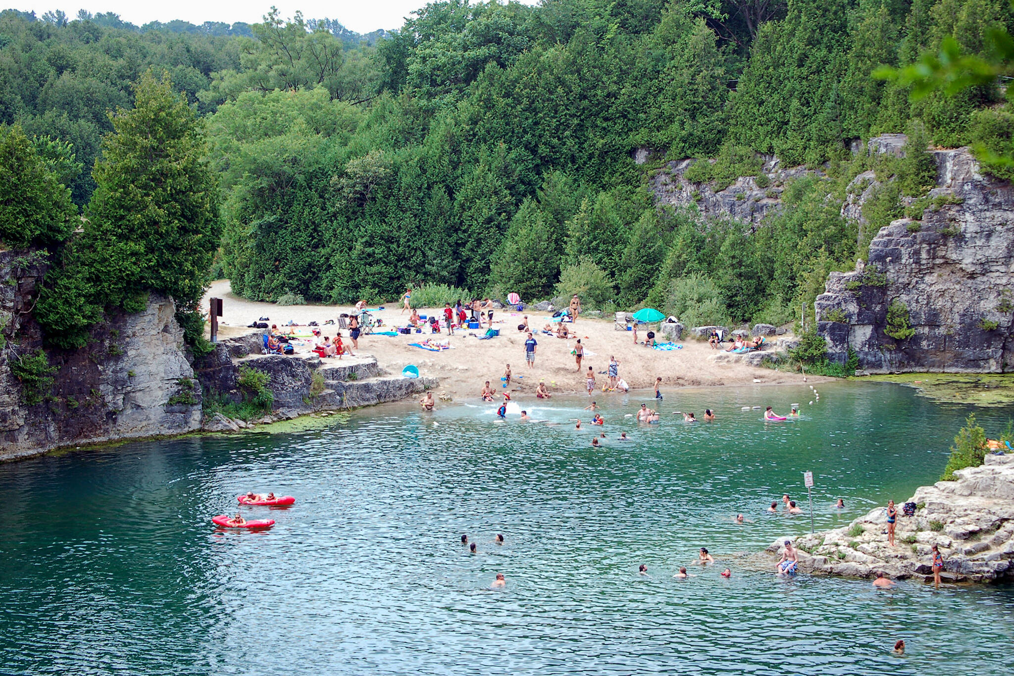 Abandoned quarry is an epic swimming hole one hour from Toronto