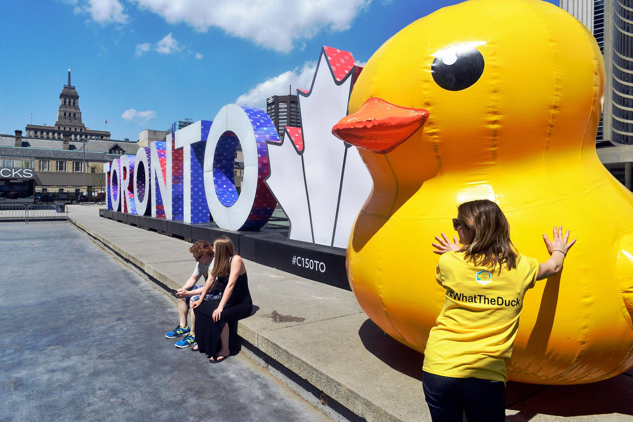 rubber duck toronto