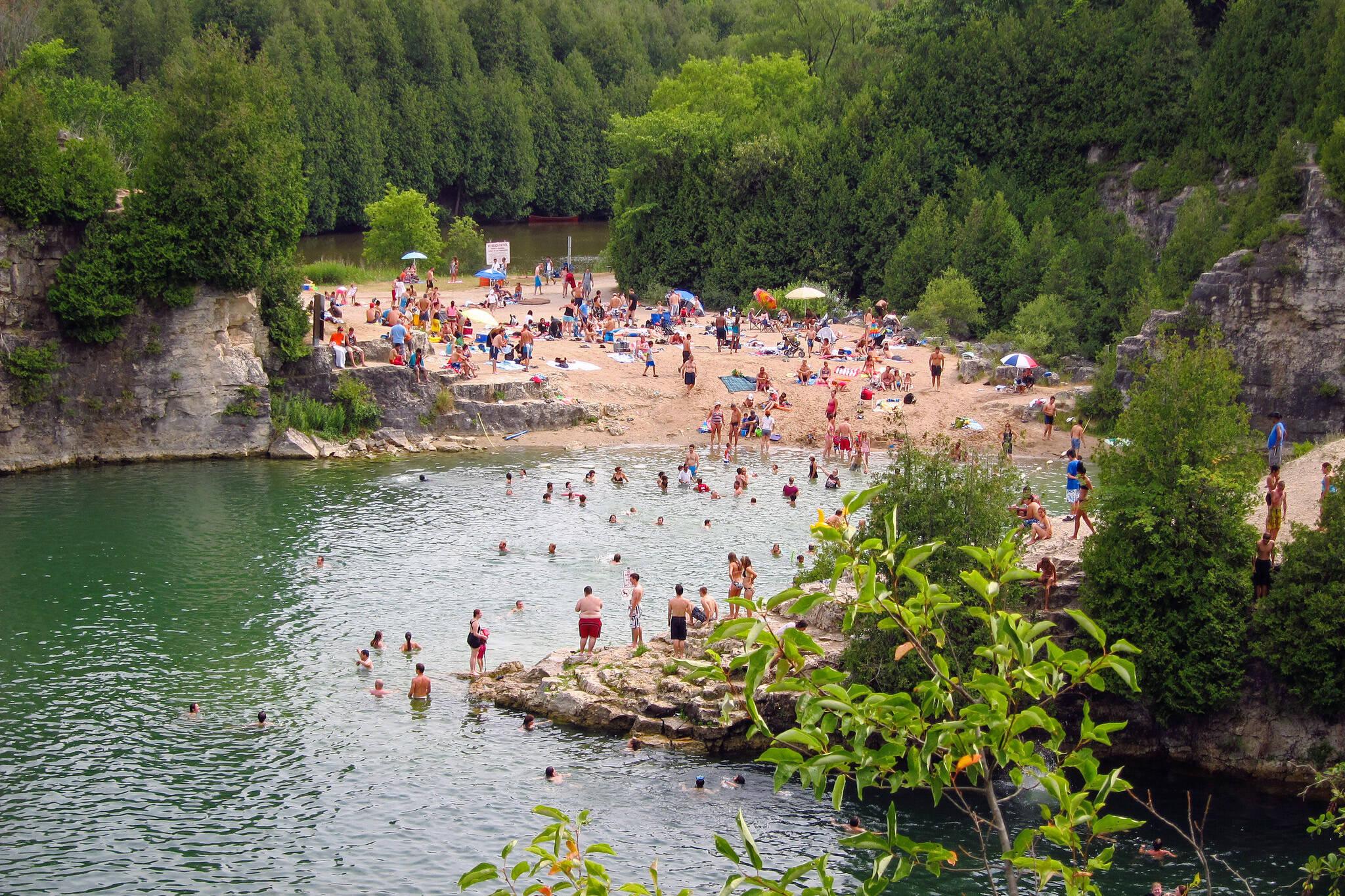 quarries swimming toronto