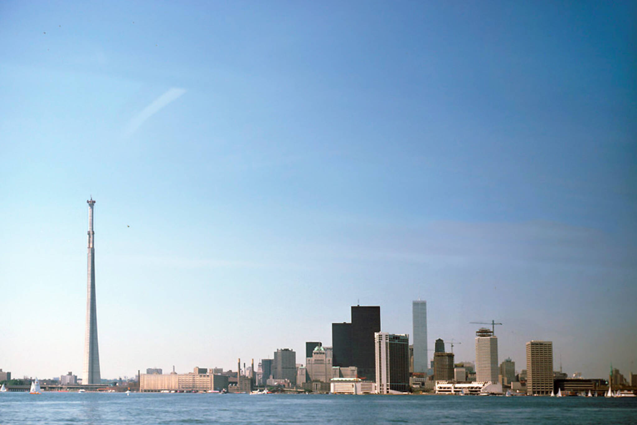 Toronto skyline transformation
