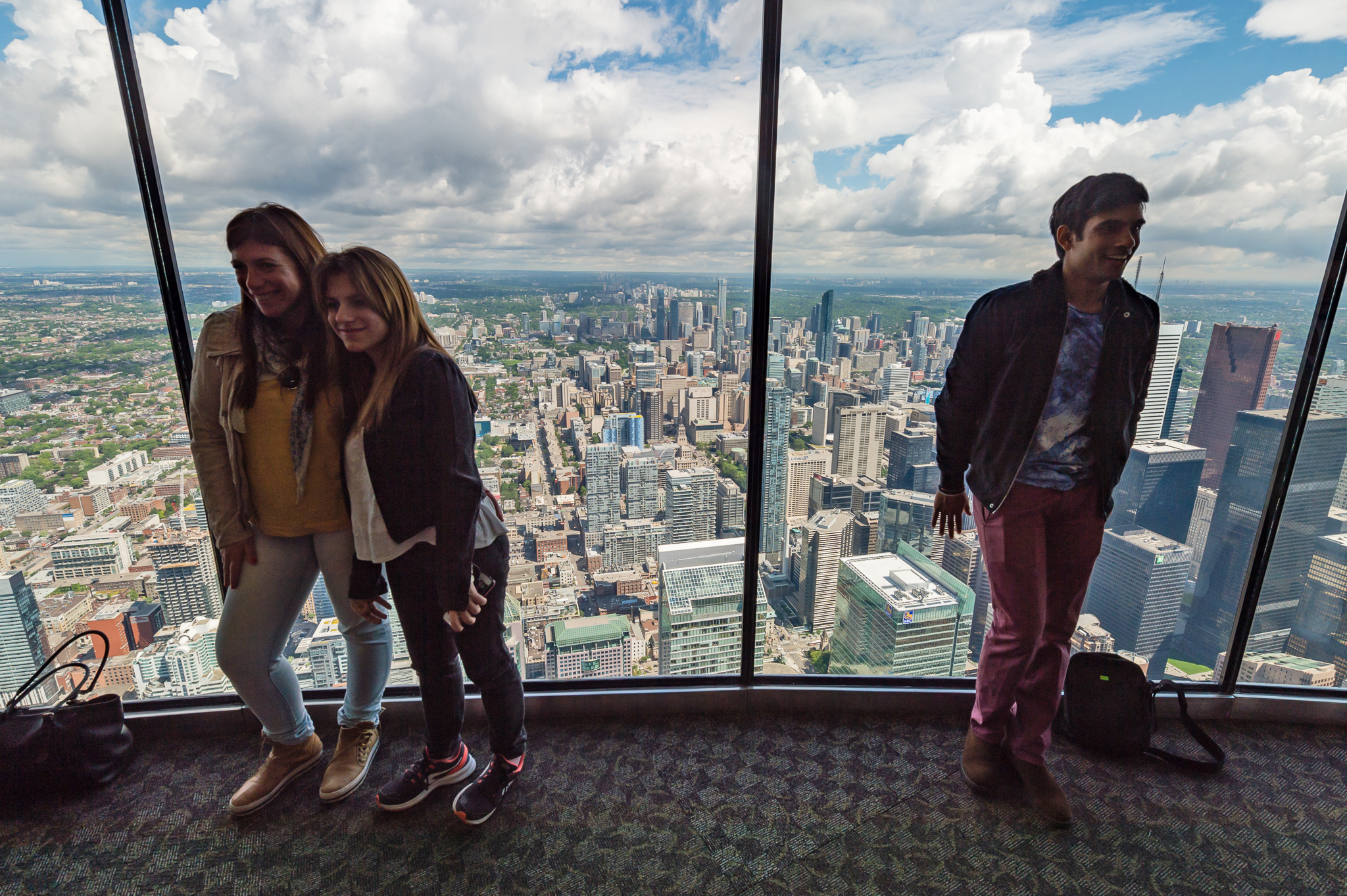 New Panoramic Lookout Unveiled At The Cn Tower