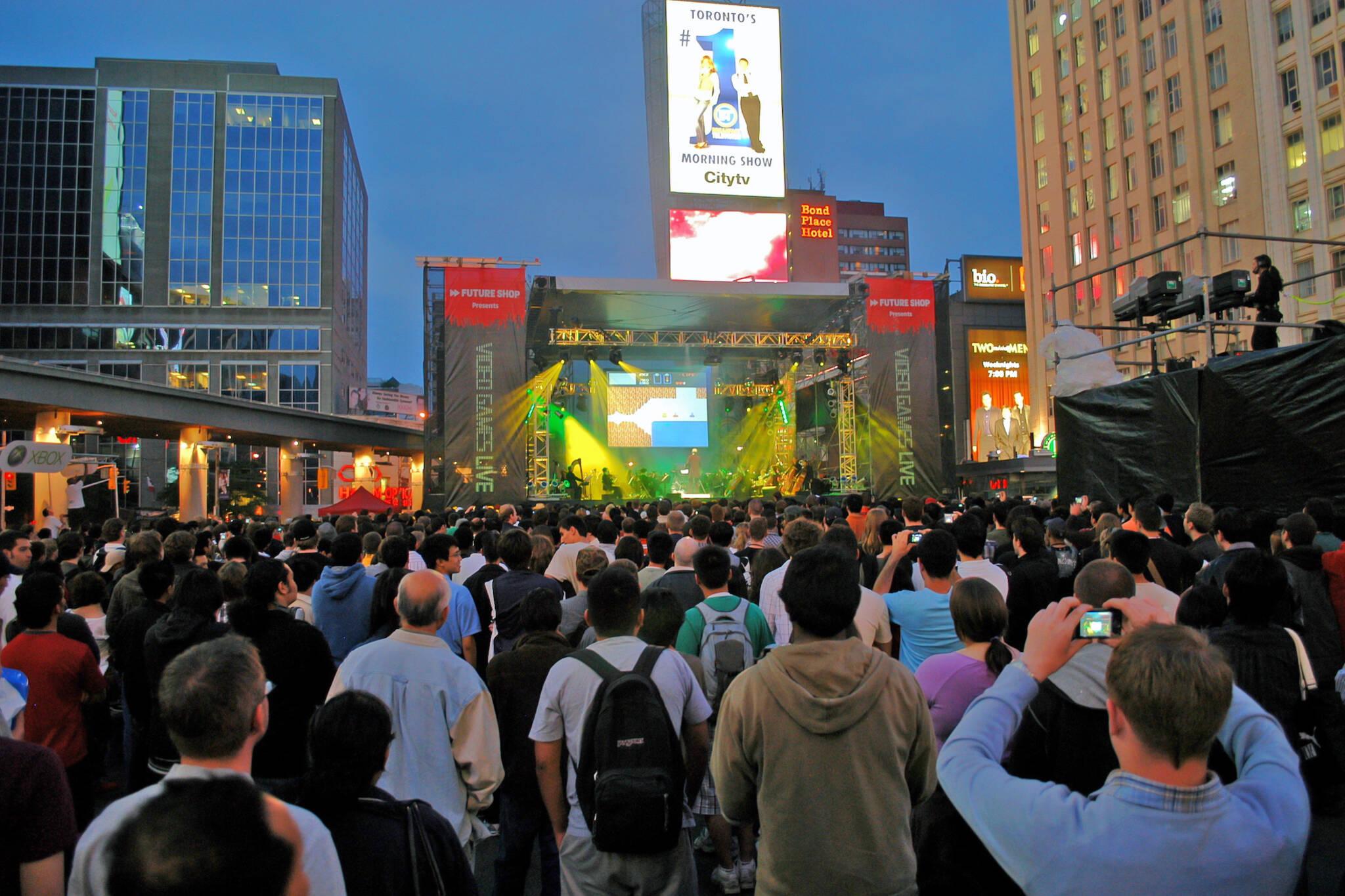 free concerts toronto