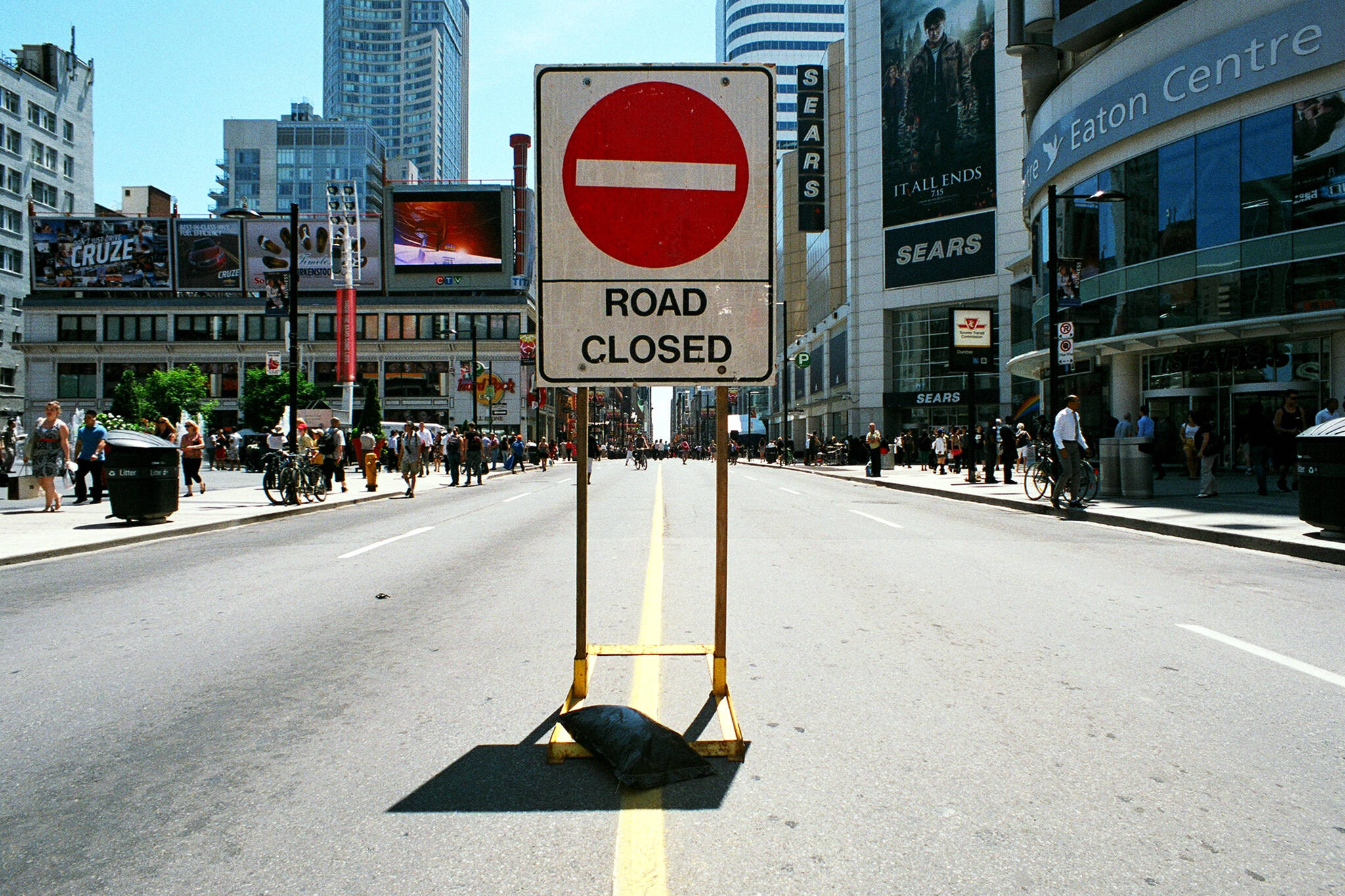 Toronto Road Closure