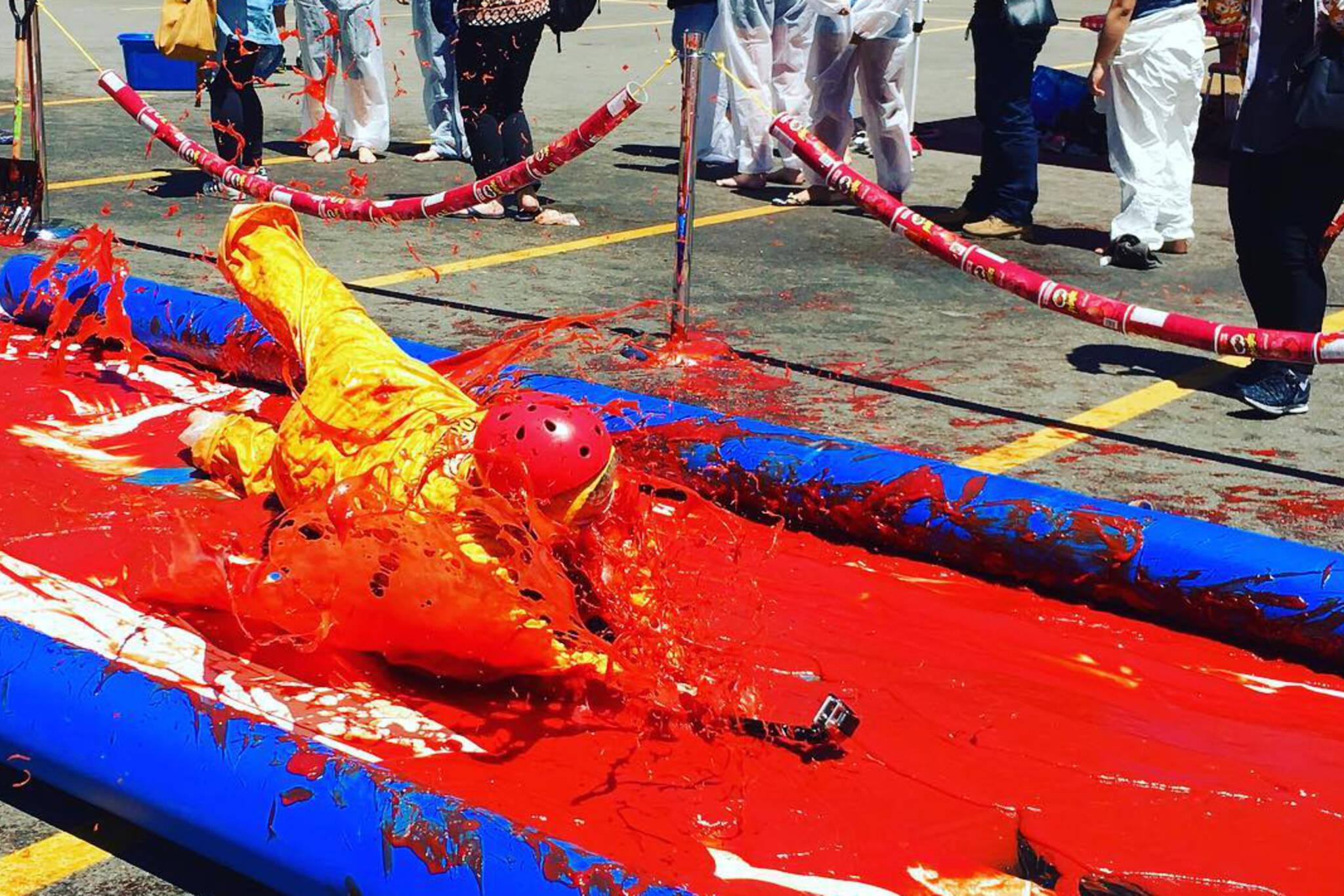 ketchup slip n slide toronto