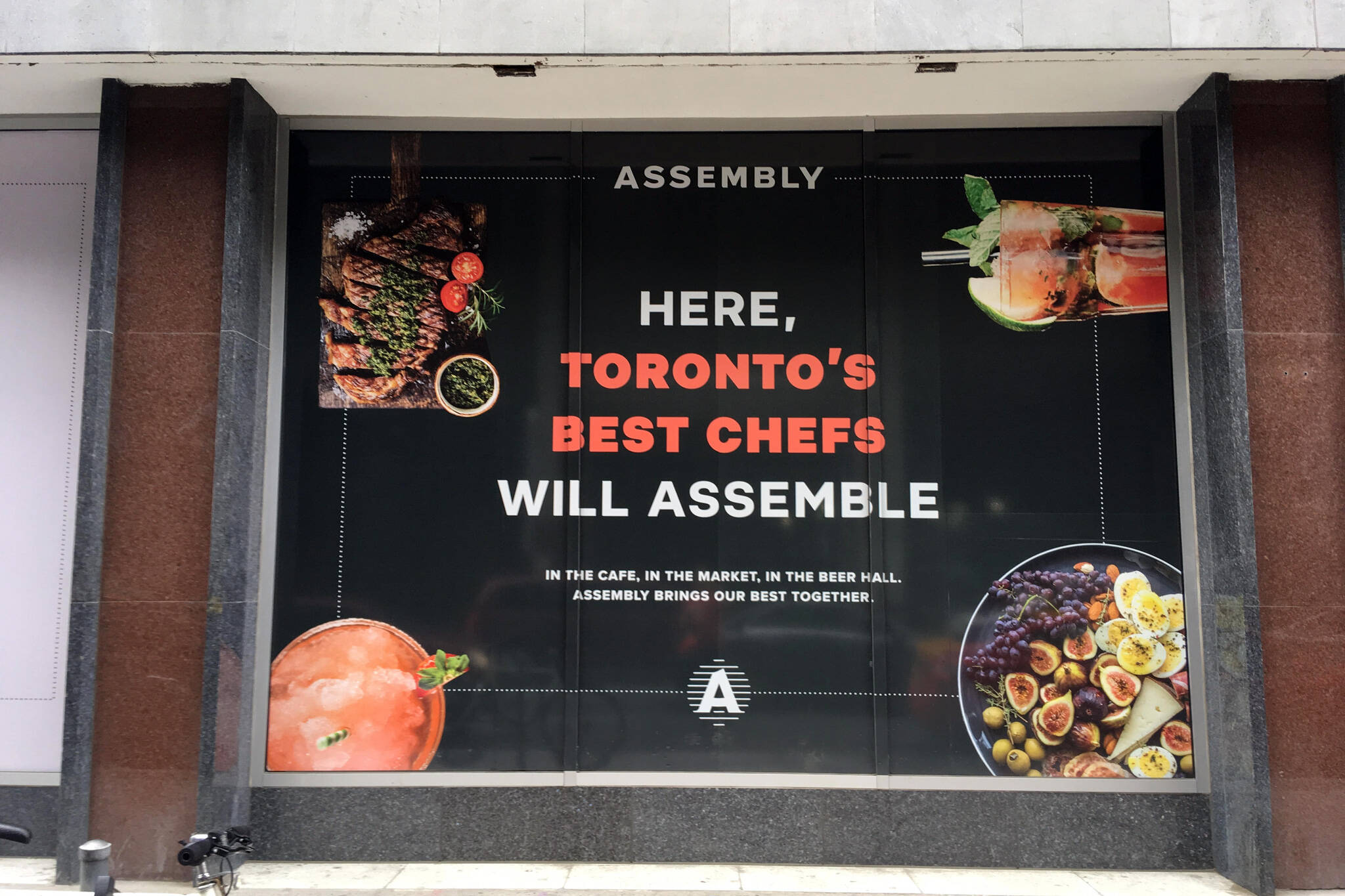 assembly chefs hall