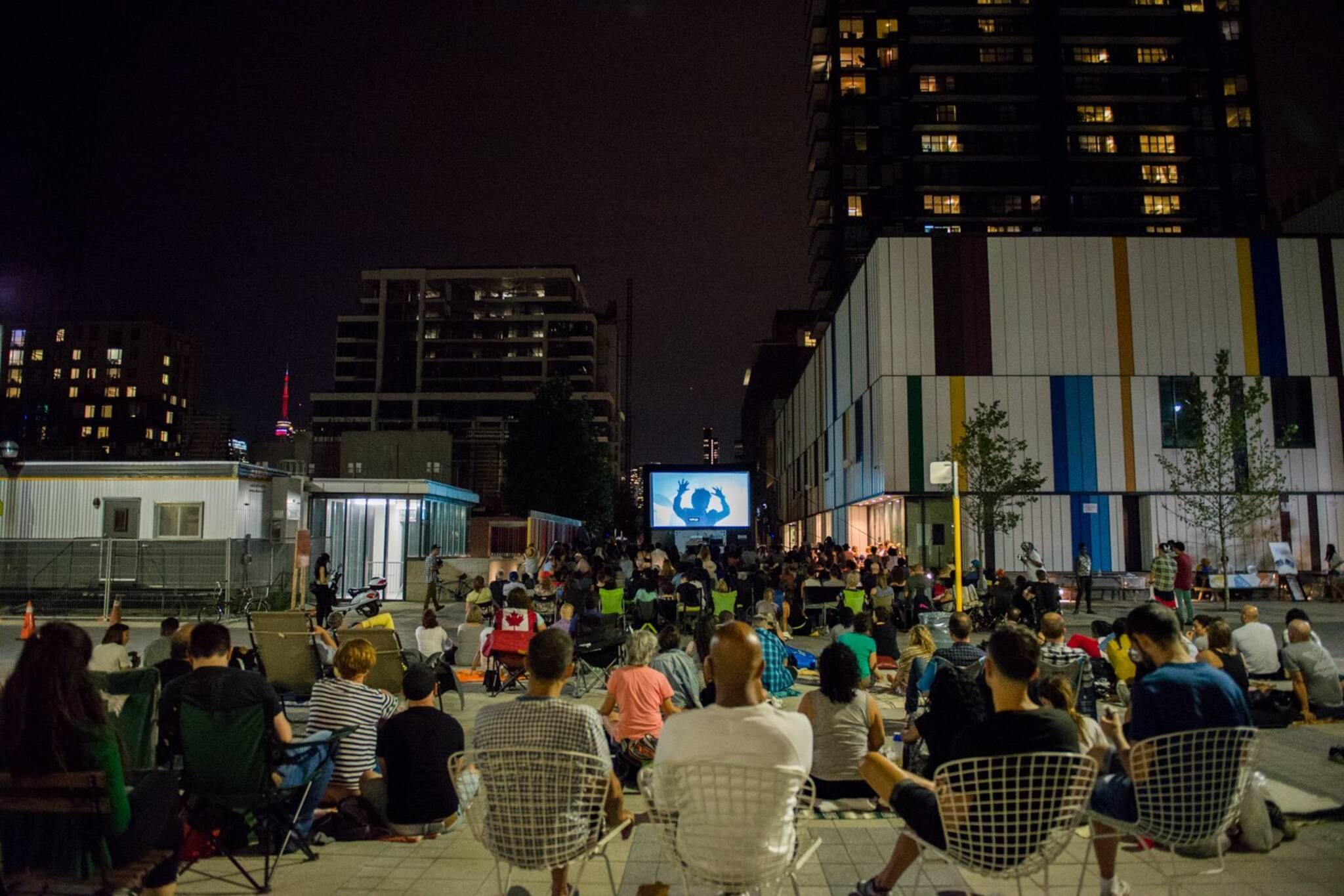 outdoor movies toronto