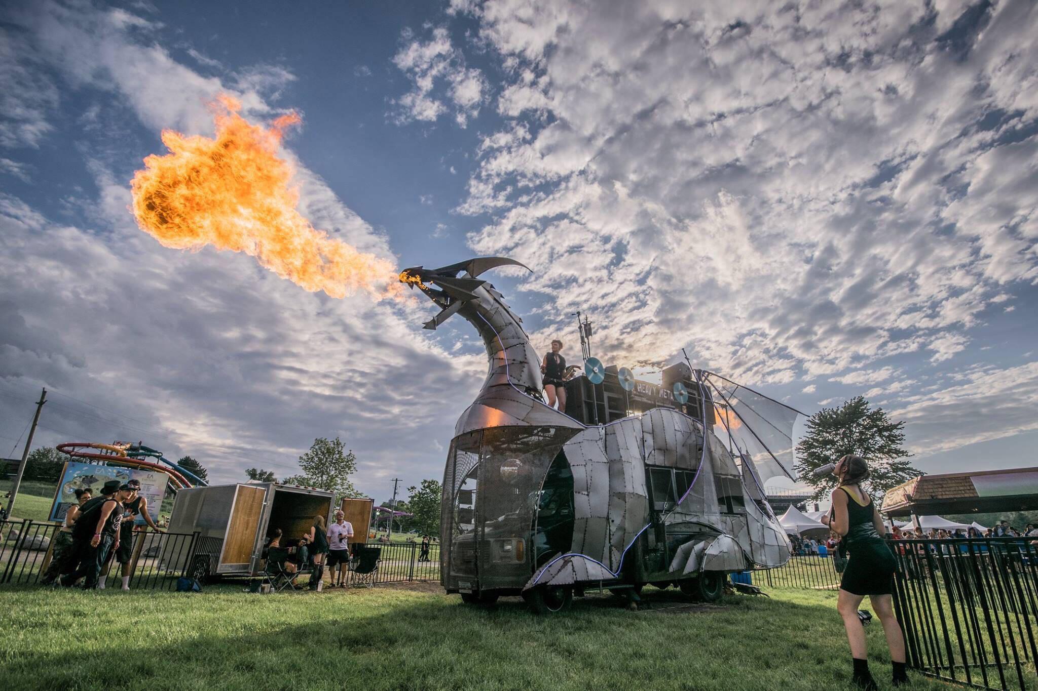 fire dragon toronto