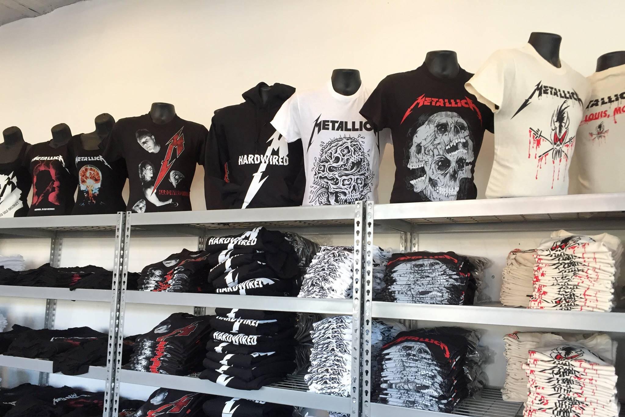 metallica shop toronto