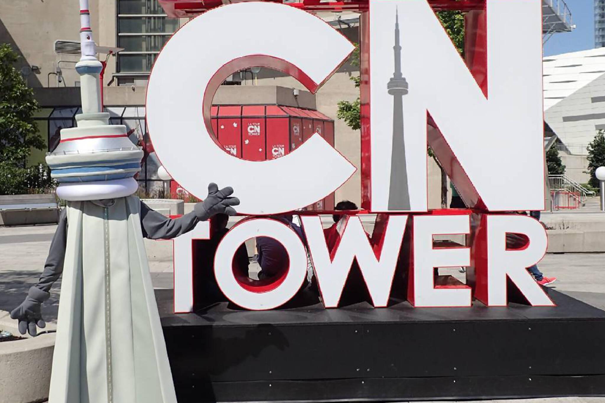 cn tower mascot