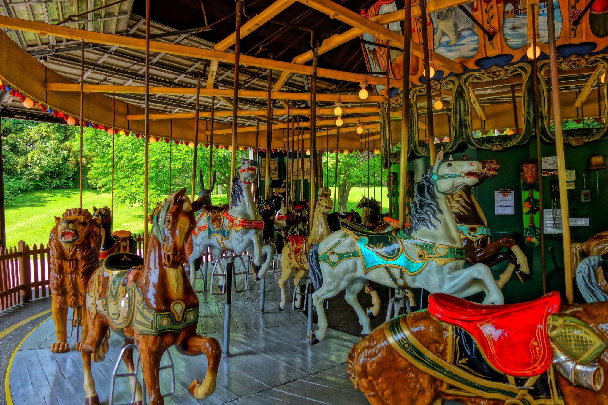 toronto island carousel