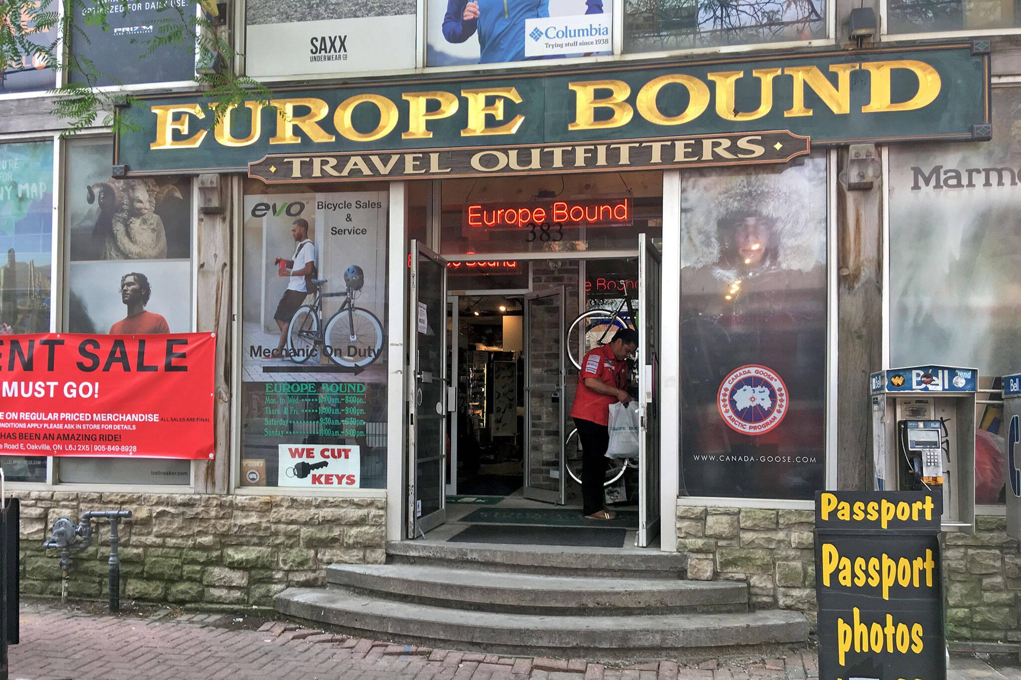 europe bound toronto