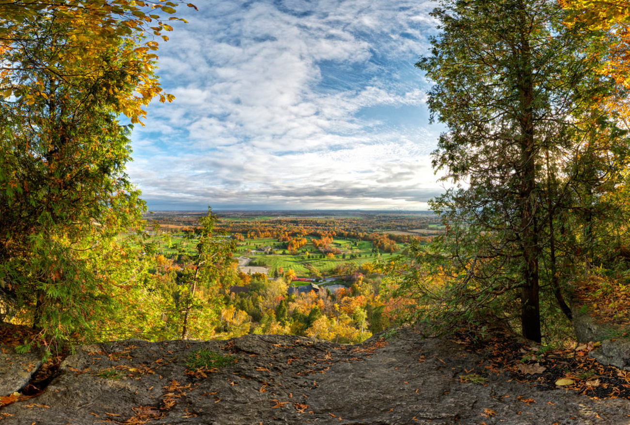 This sublime hiking trail is only 45 minutes from Toronto