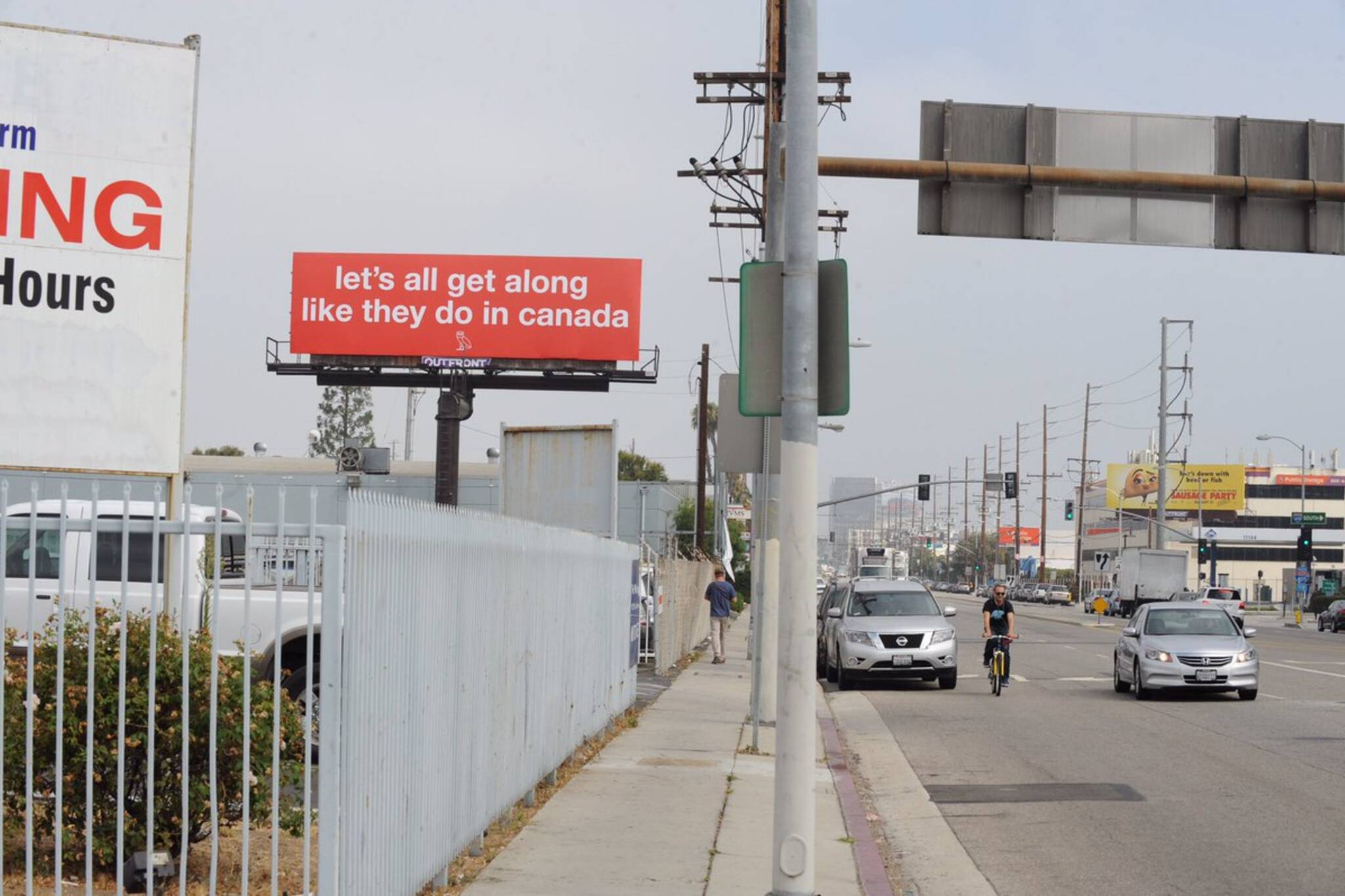 drake toronto billboard