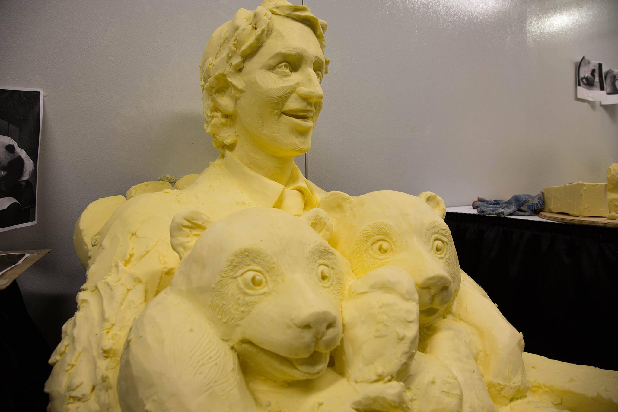 justin trudeau butter