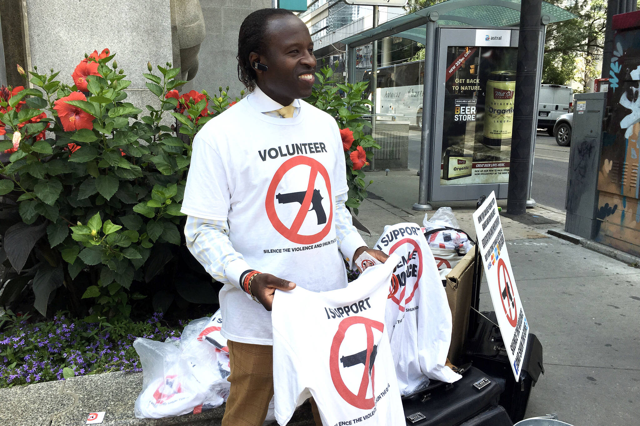 anti gun shirts toronto