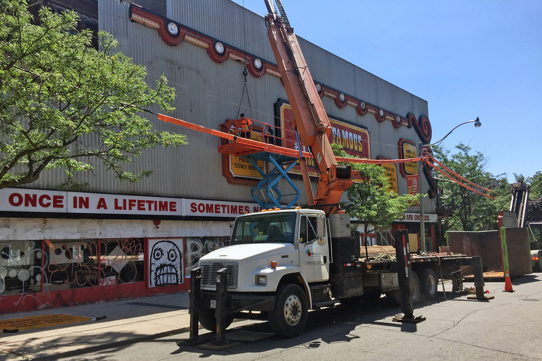 honest eds sign removed