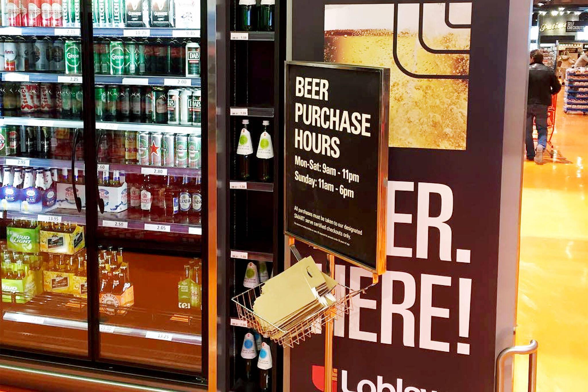 beer supermarkets toronto