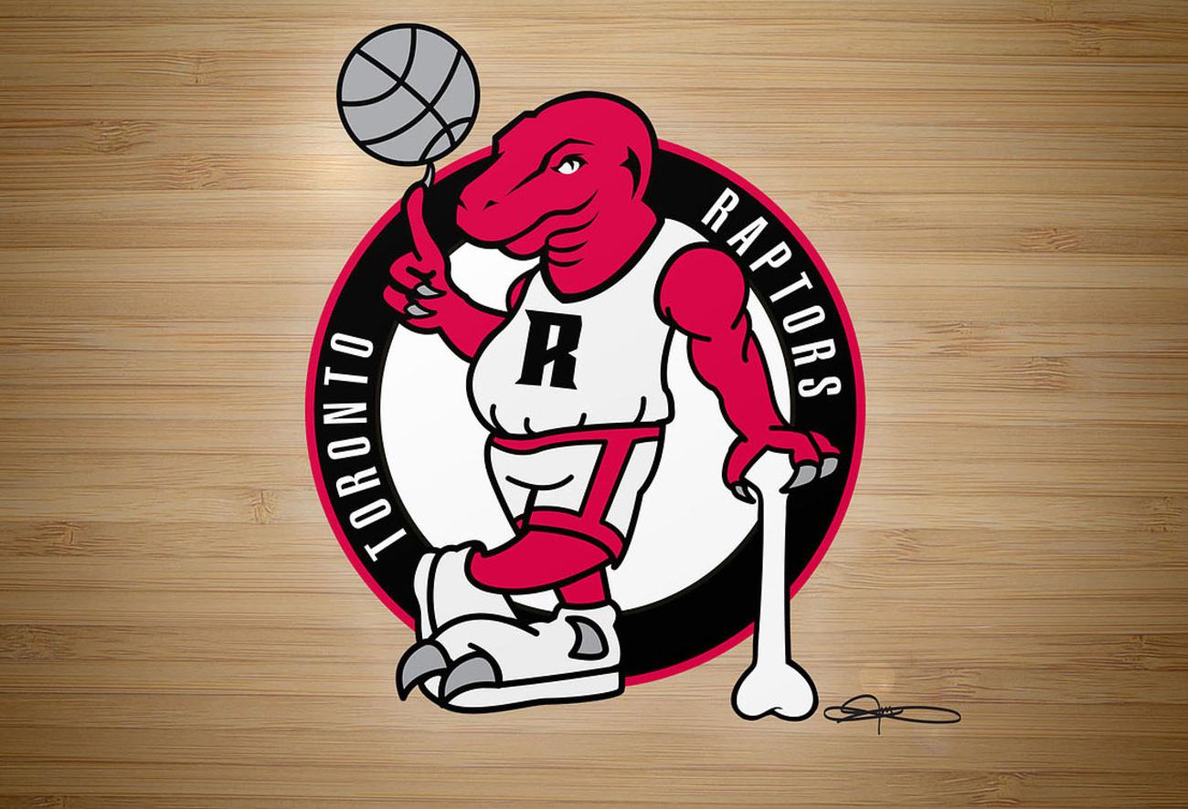 Toronto Artist Redraws Every NBA Team Logo As The Raptors