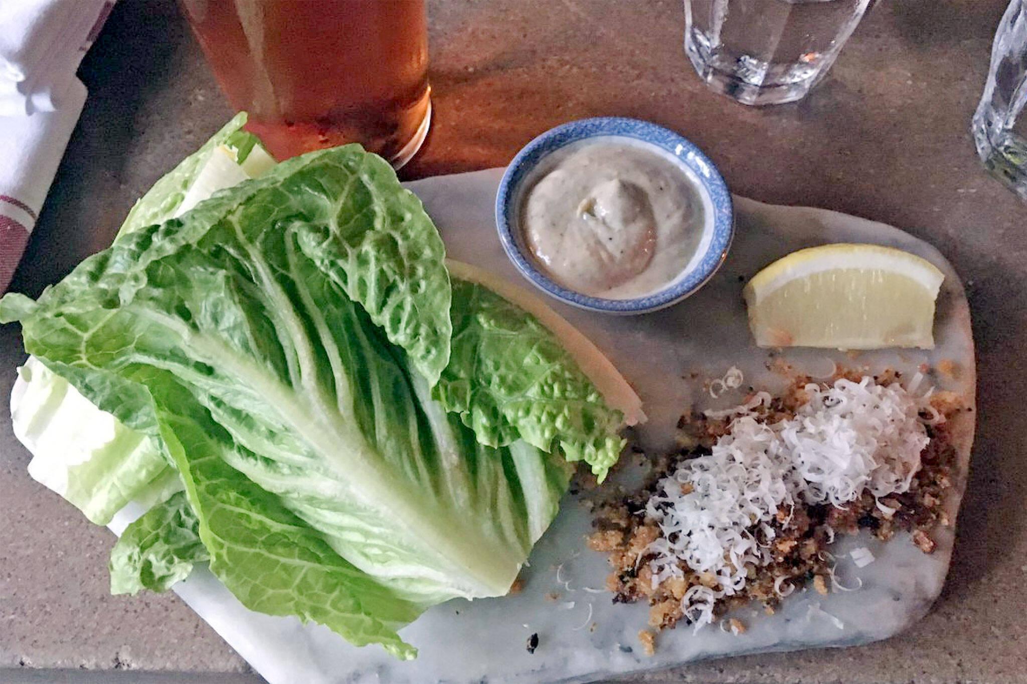 416 snackbar caesar salad