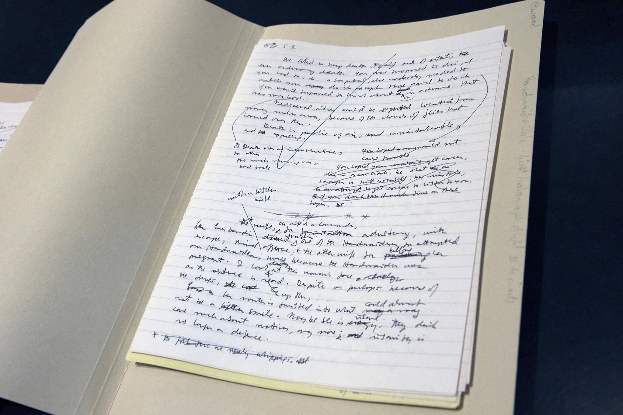 handmaid's tale draft