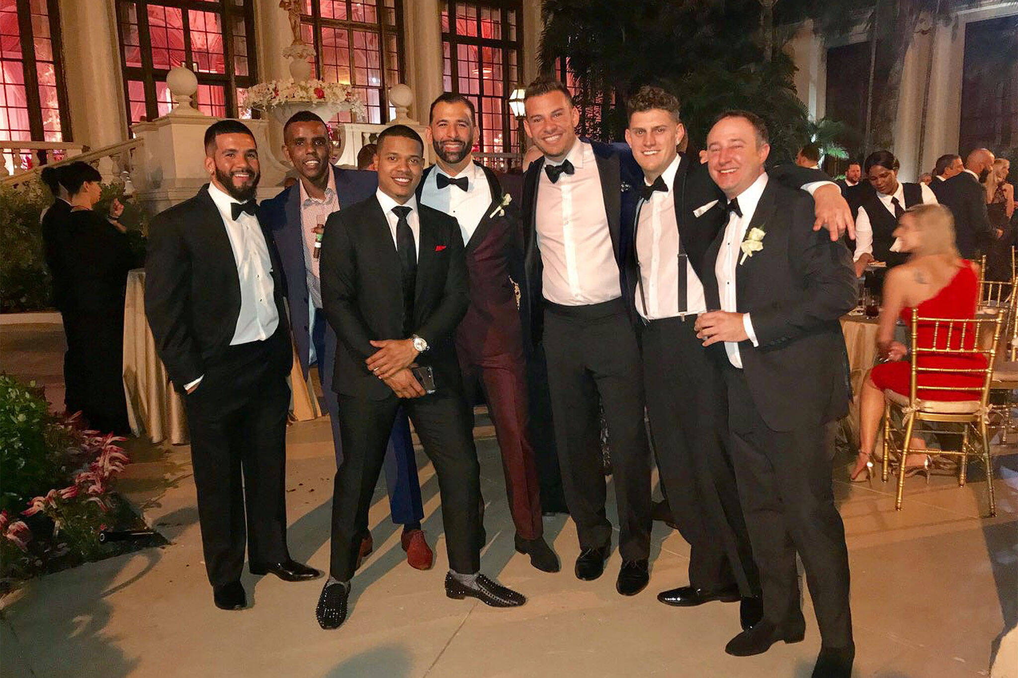 Jose Bautista wedding
