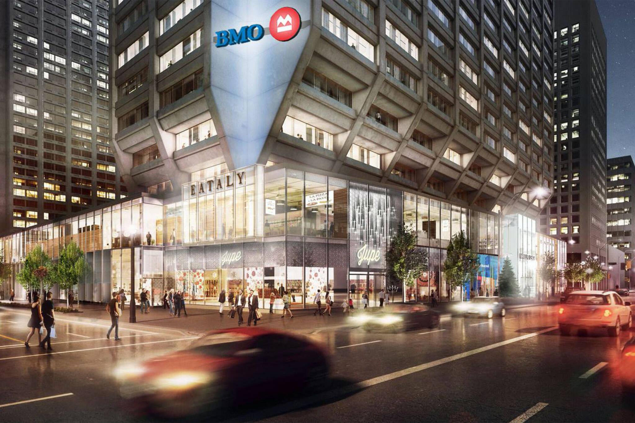 Food halls Toronto