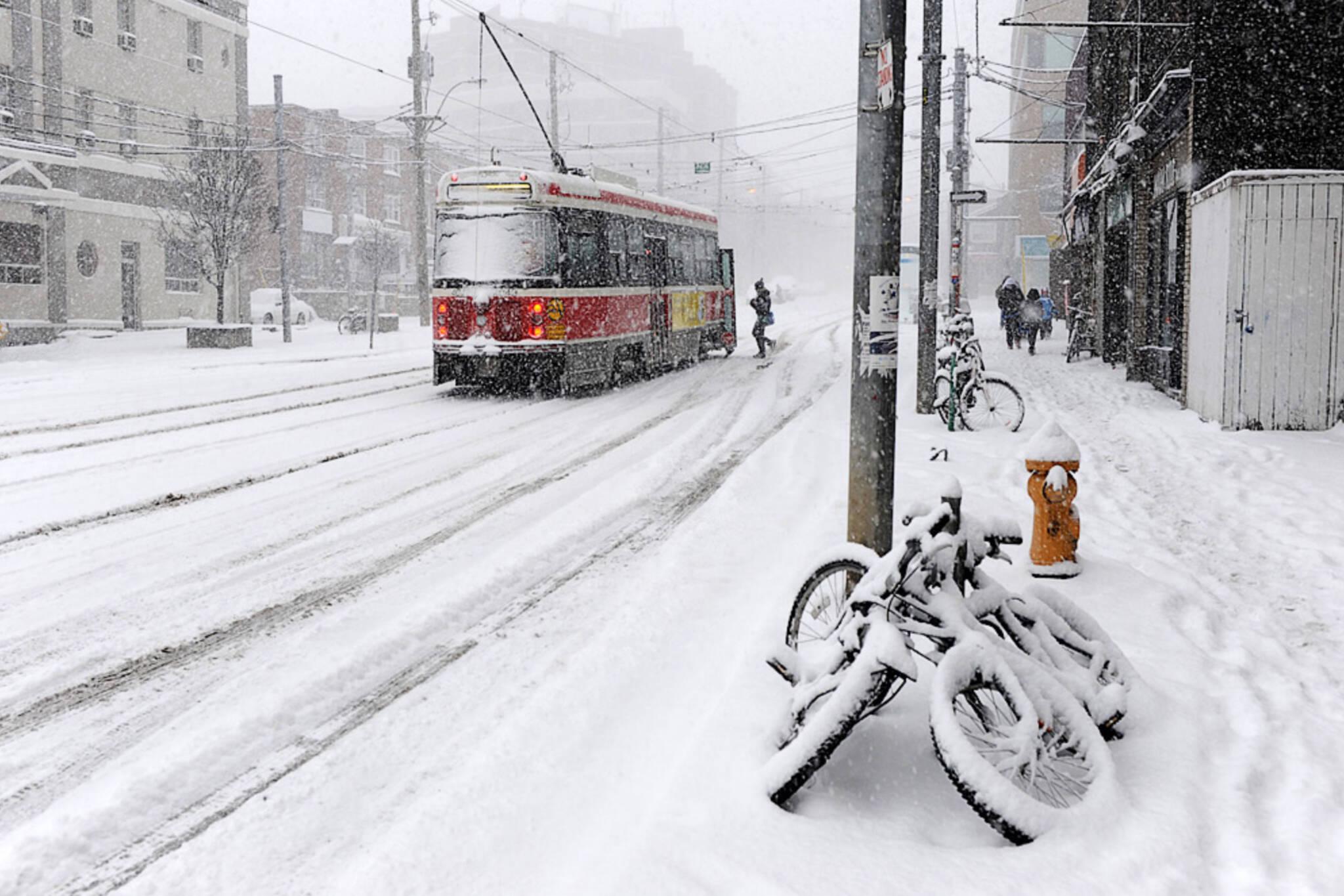 toronto winter 2018