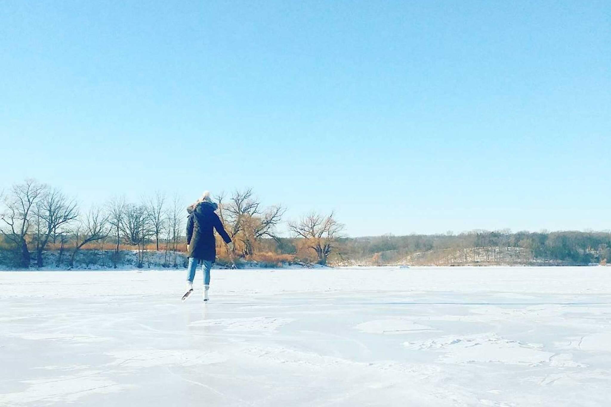 skating trails ontario