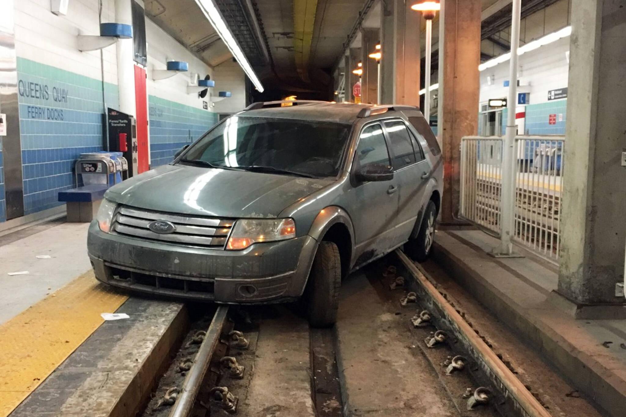 car stuck toronto