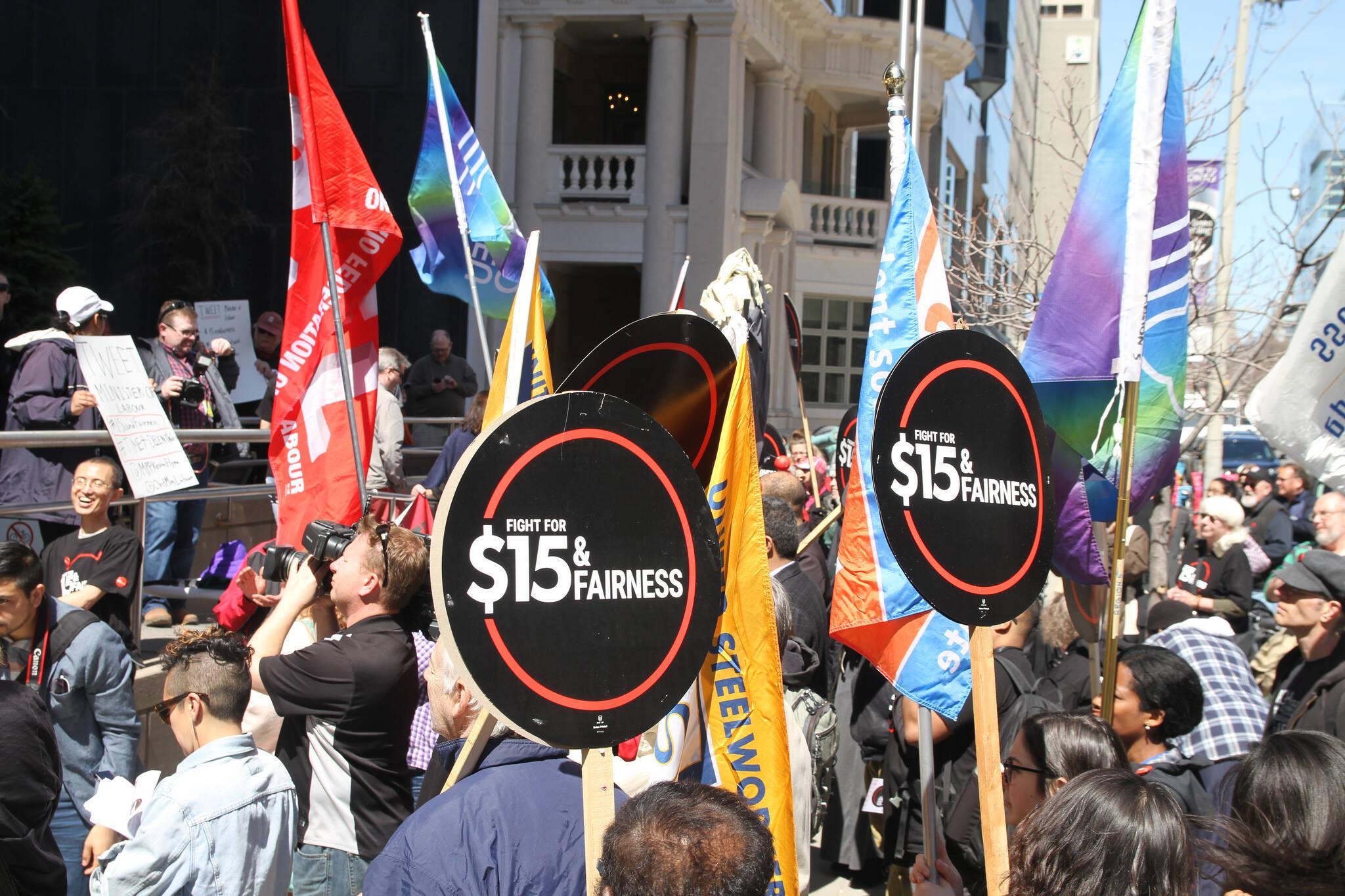 minimum wage Toronto