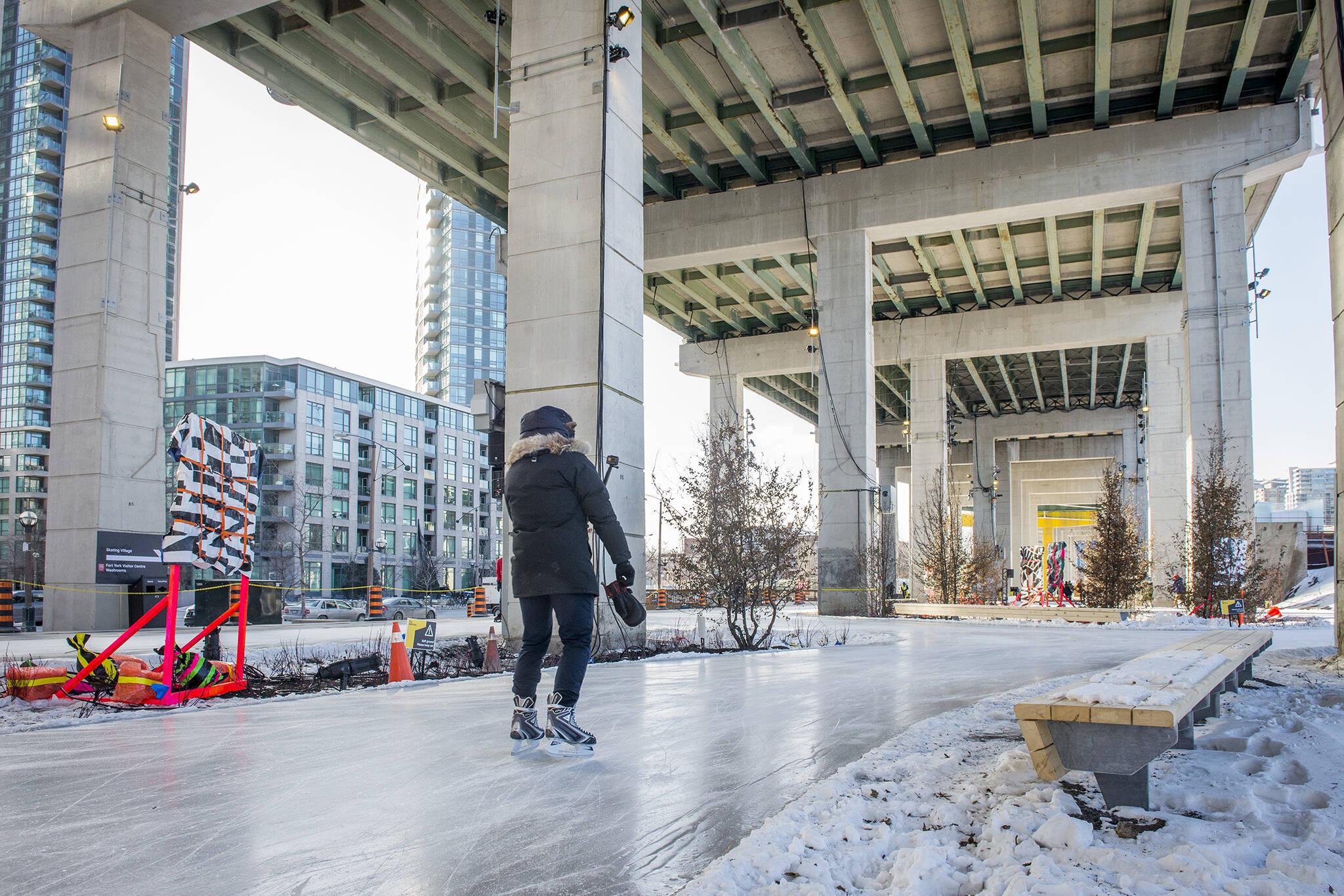 bentway skating