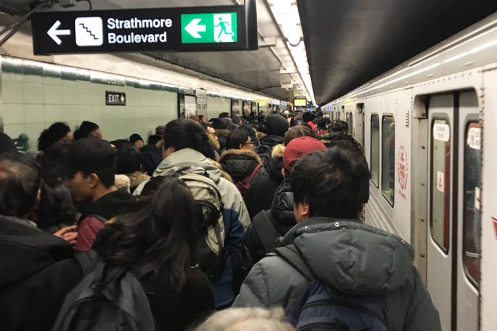 TTC power outage