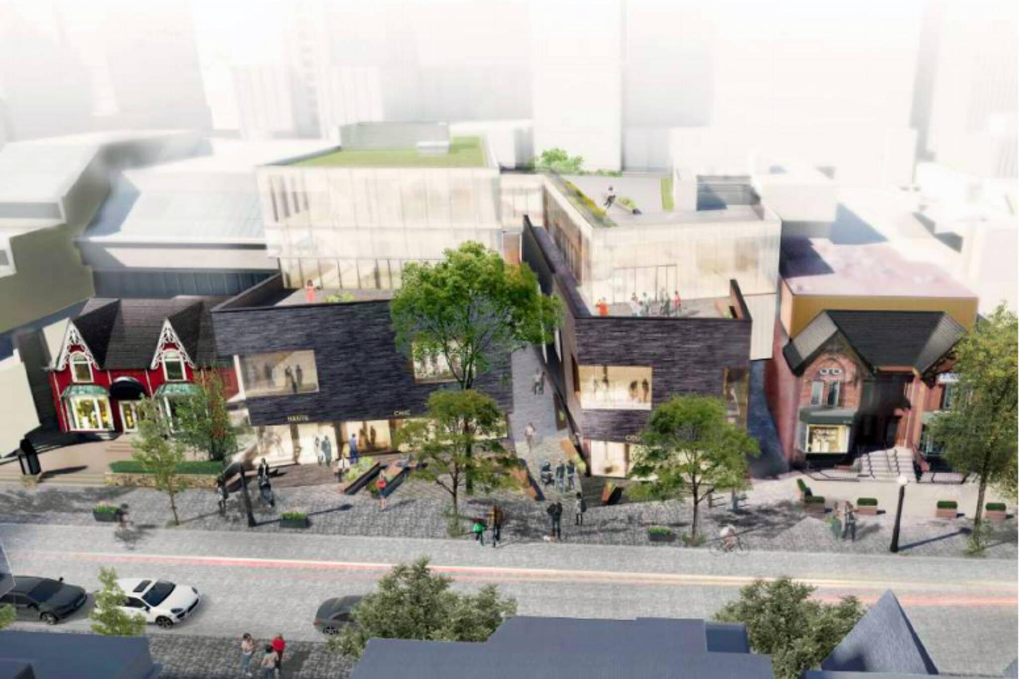 101 Yorkville development