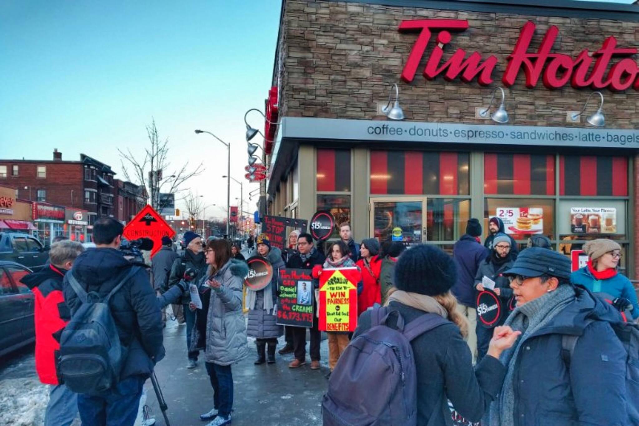 Tim Hortons boycott