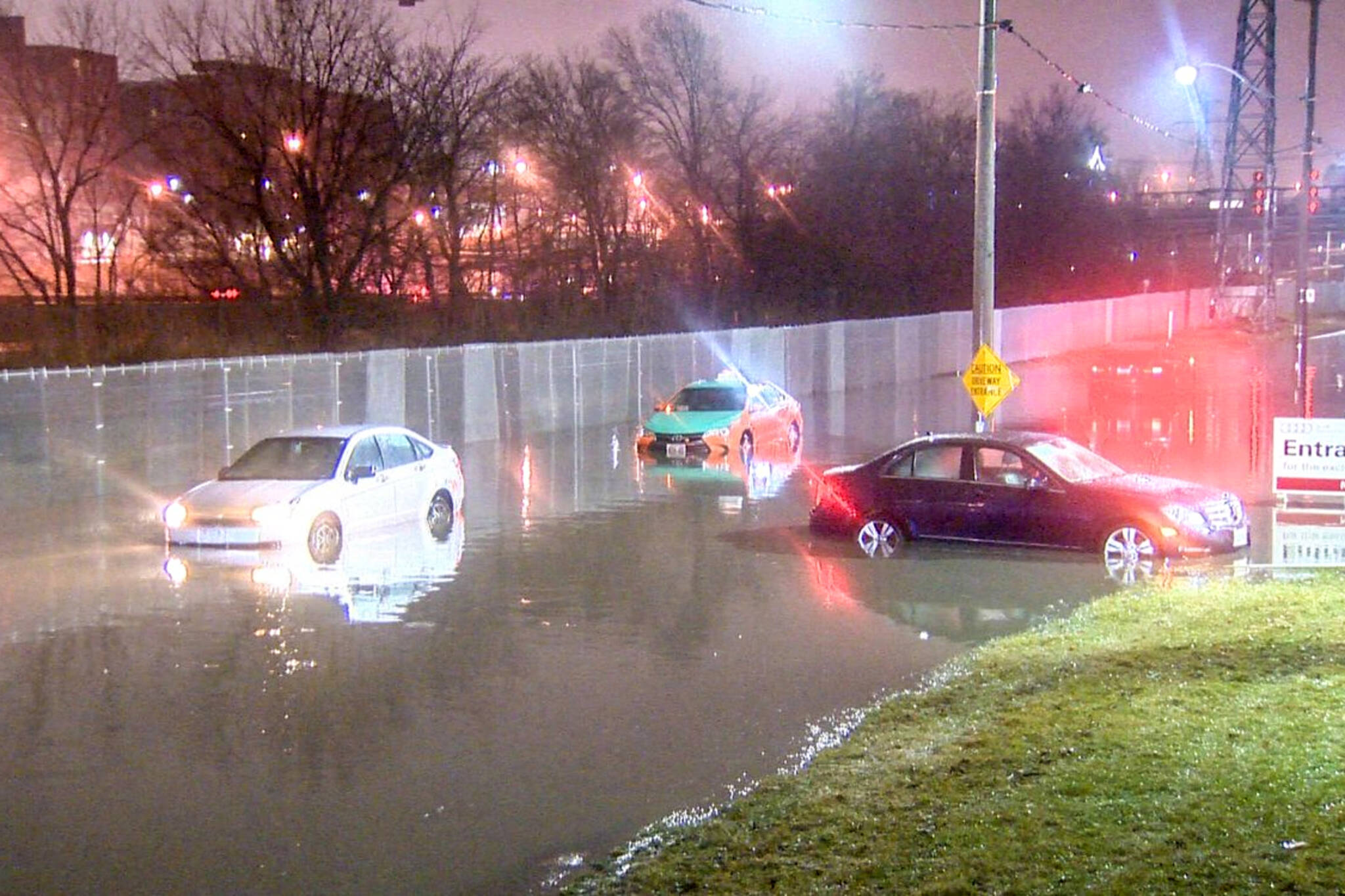DVP flood Toronto