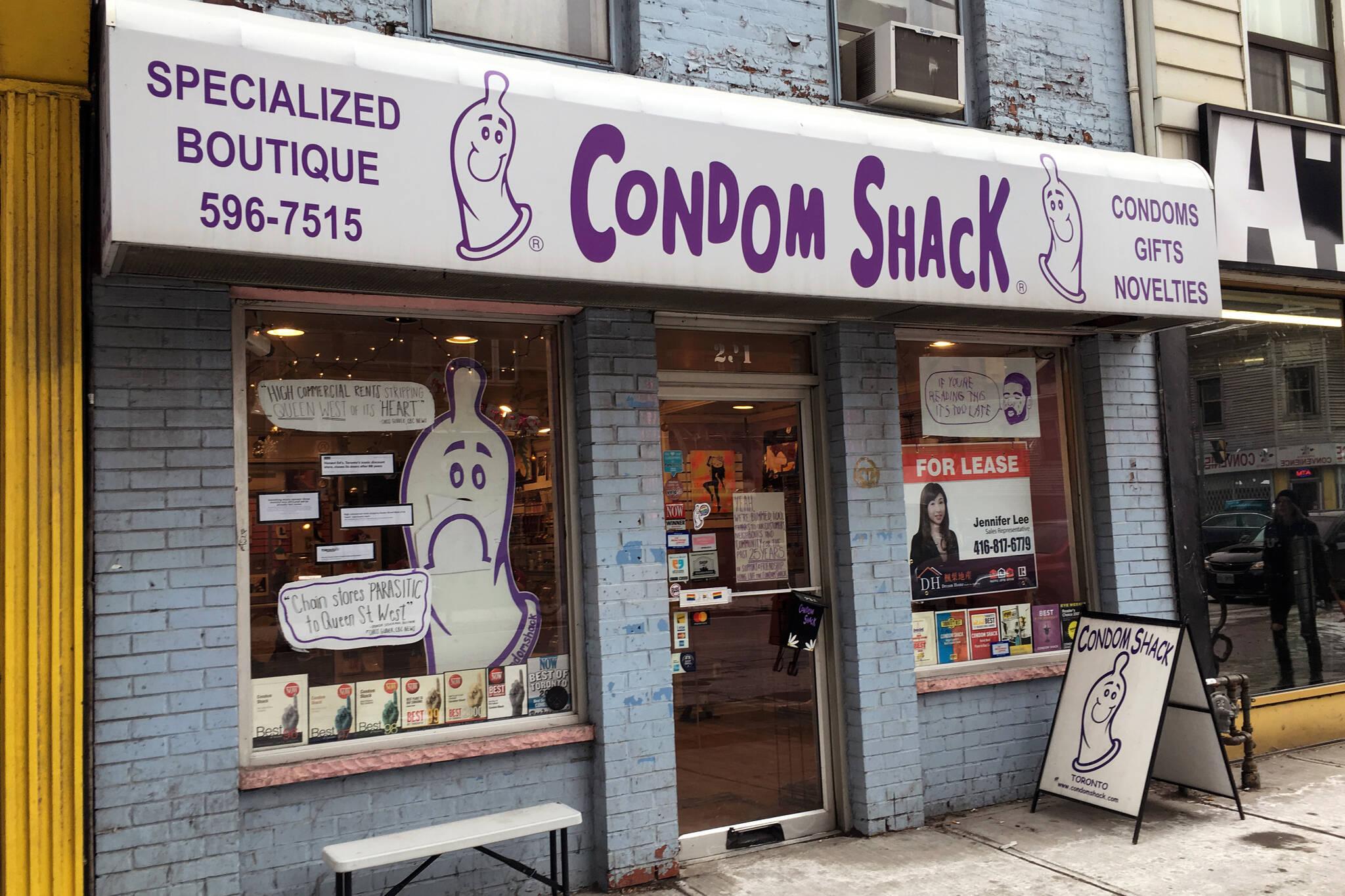 Condom Shack closing