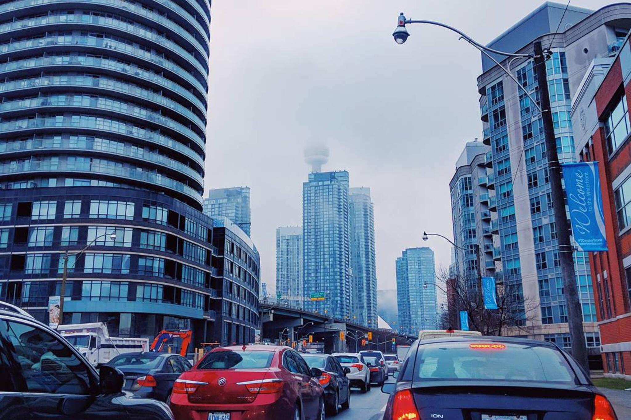 Toronto Fog January