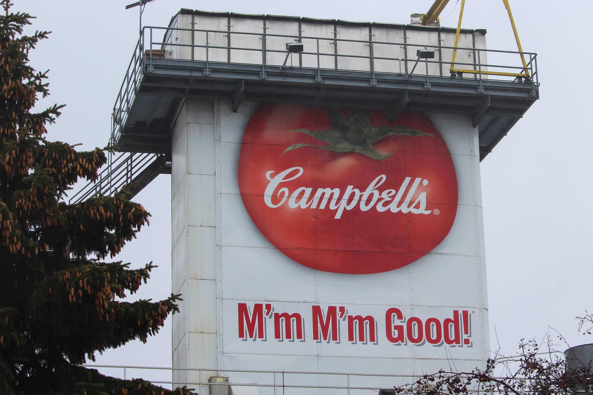 Campbell factory closing toronto
