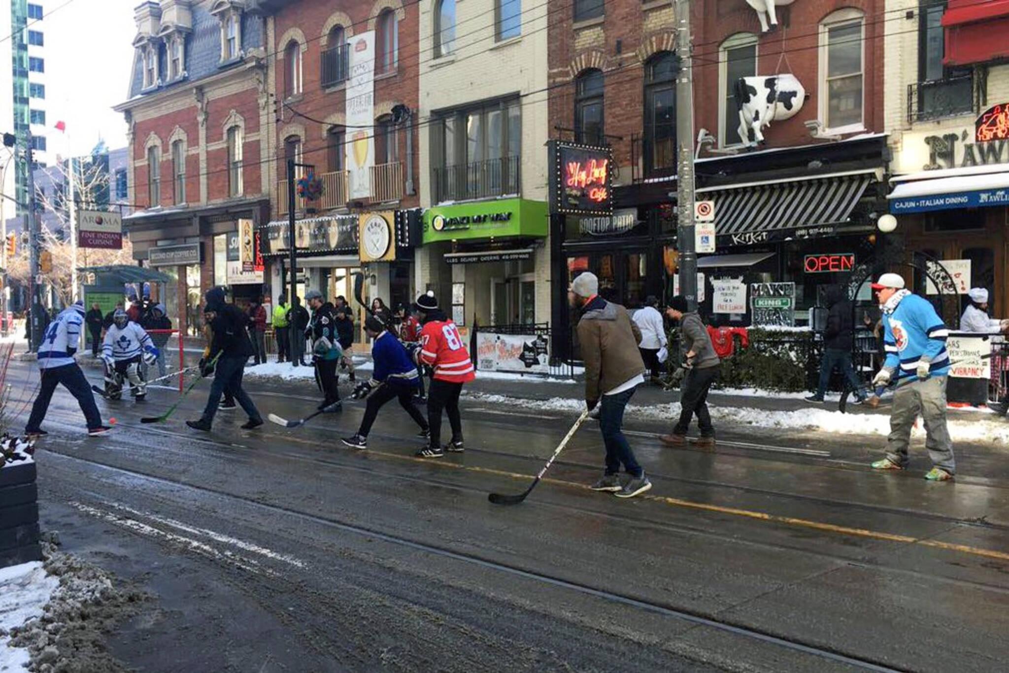 King Street hockey