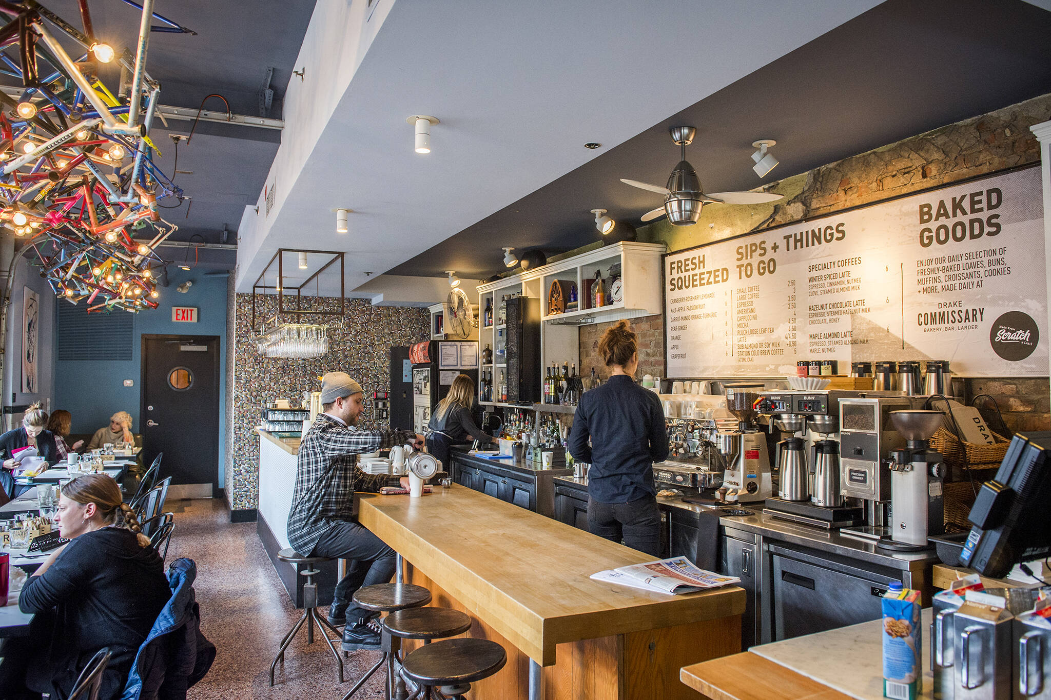 licensed cafes toronto