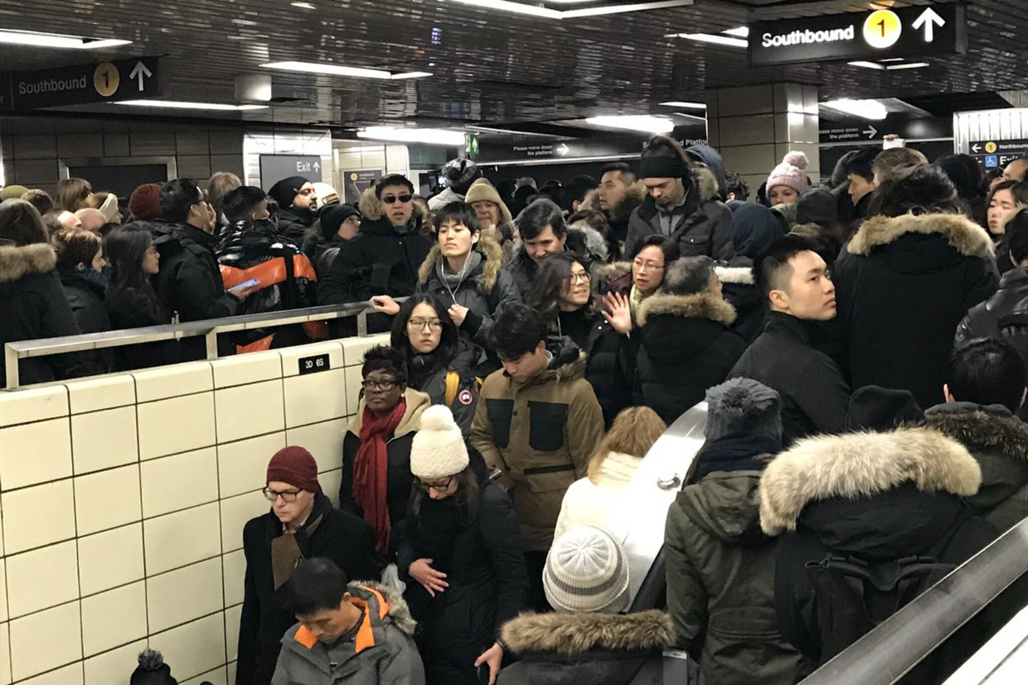TTC crowding safety