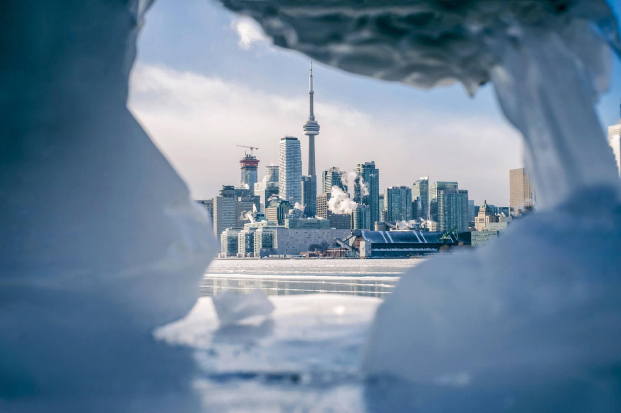 Toronto extreme cold