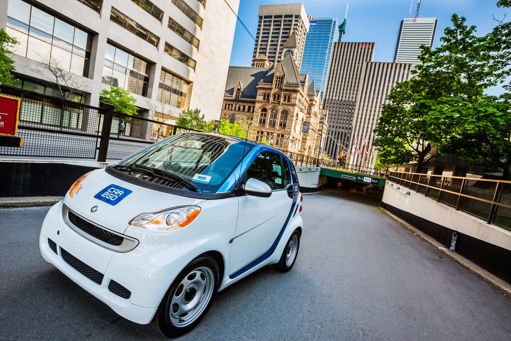 car2go Toronto pilot