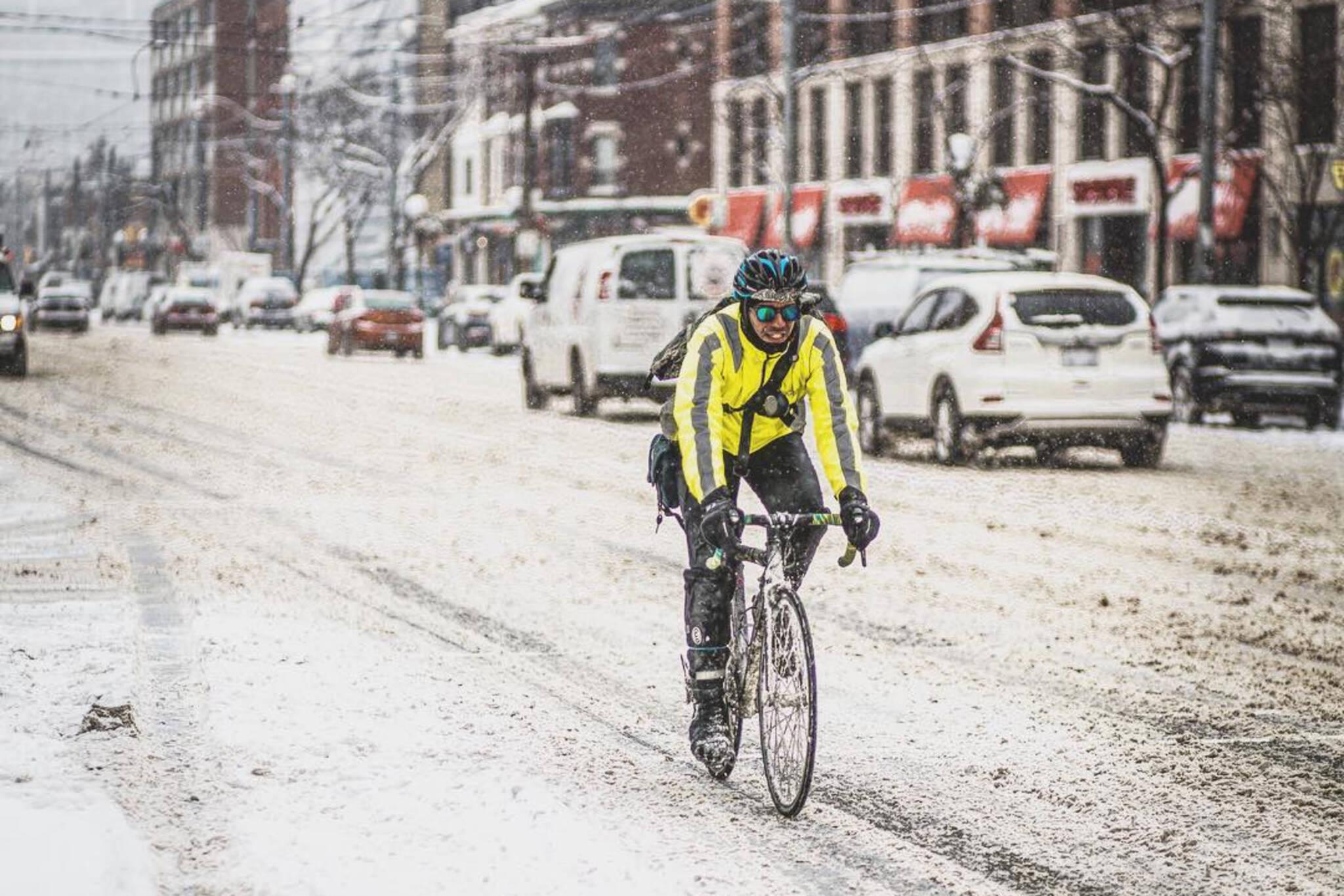 snow bike Toronto