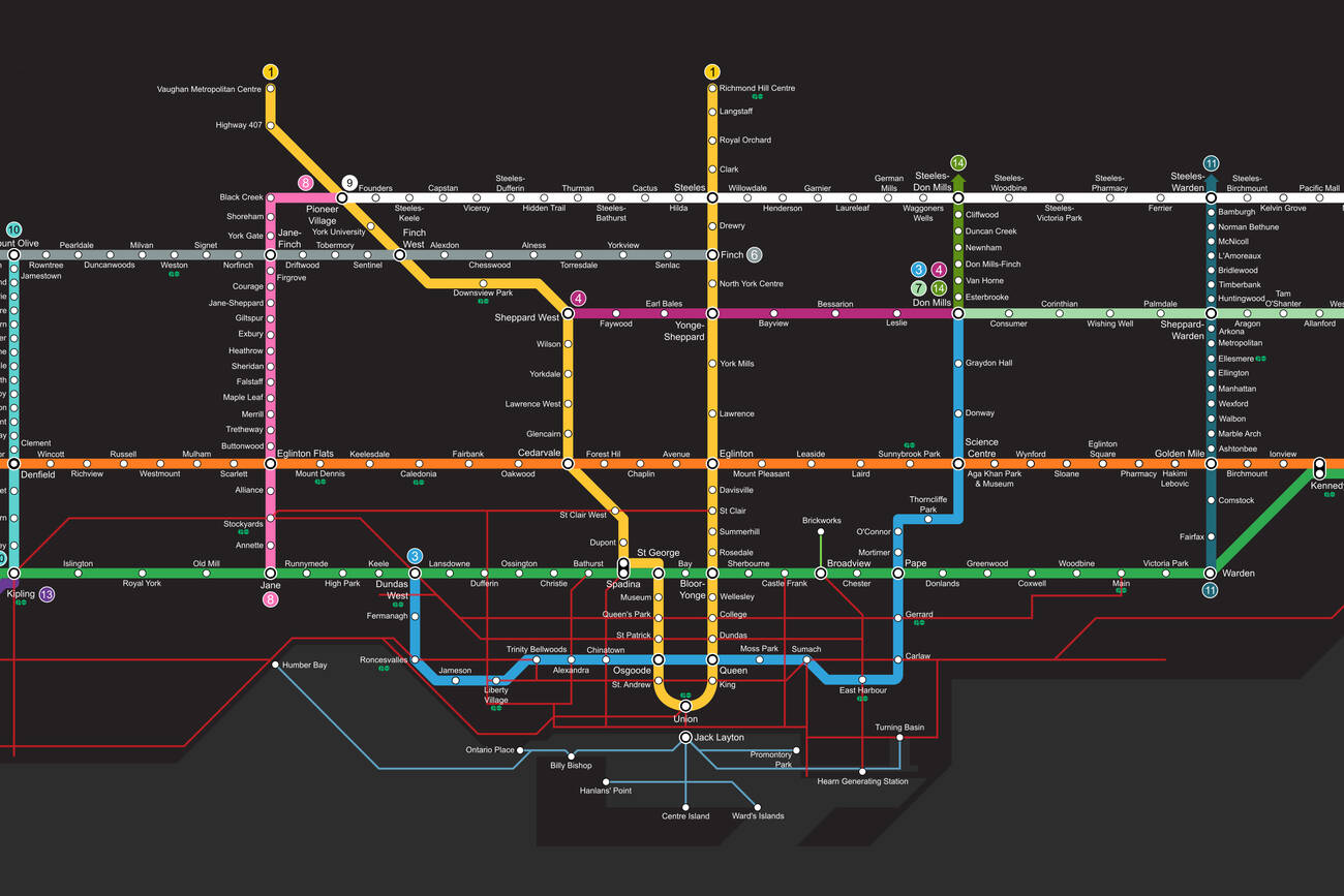 This is the TTC fantasy map to end all TTC fantasy maps