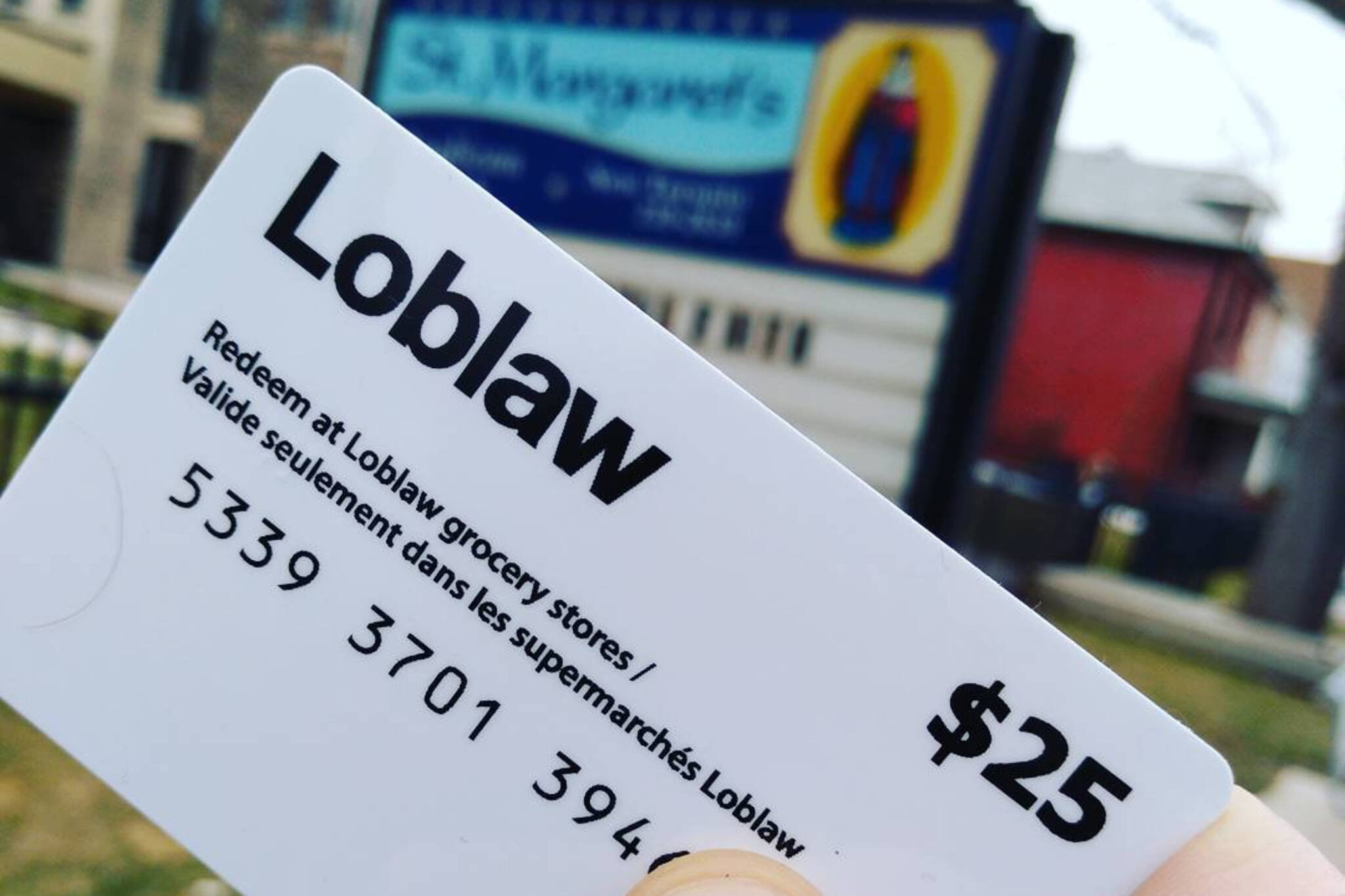 Loblaws gift cards