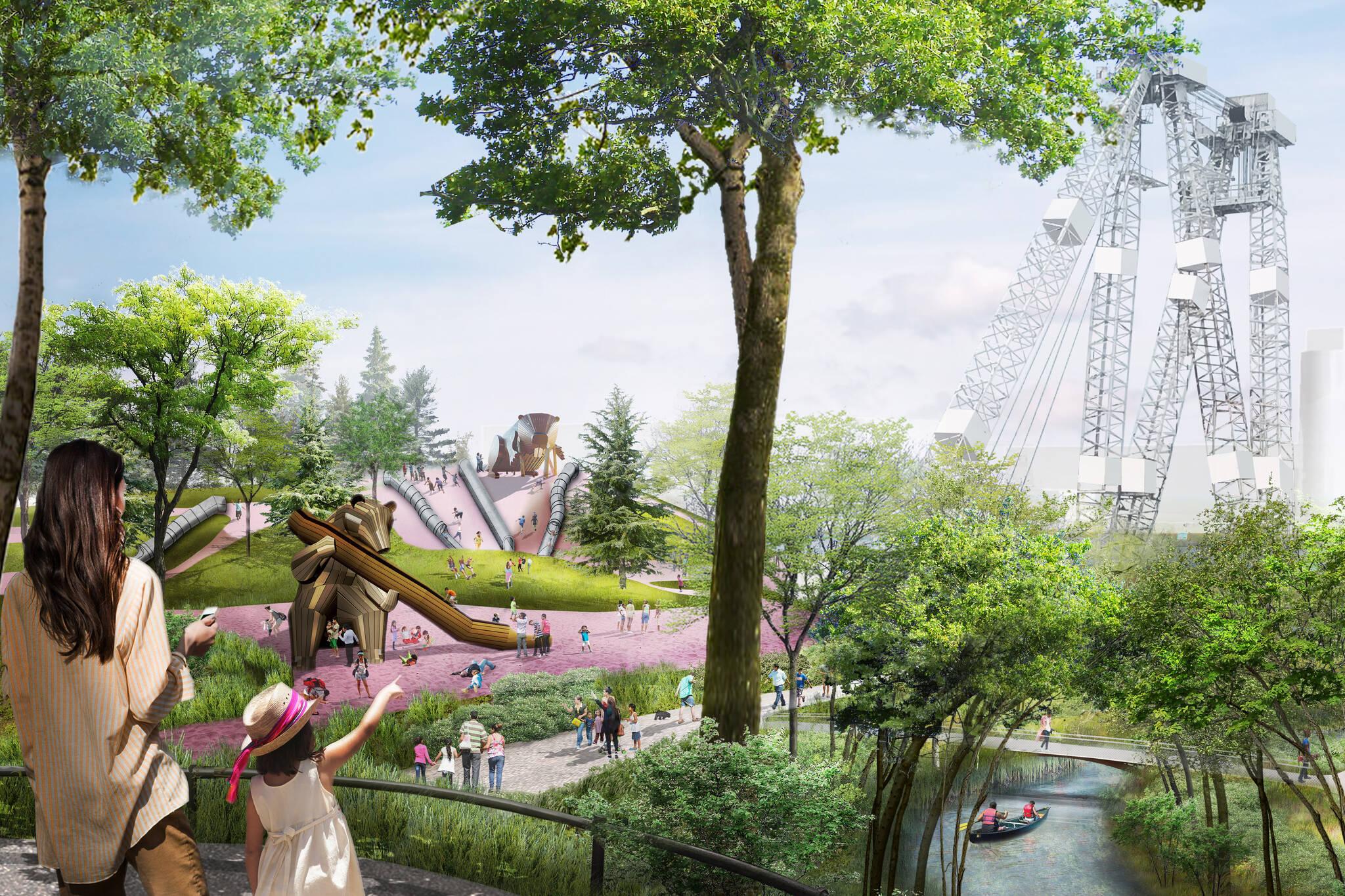 Port Lands project