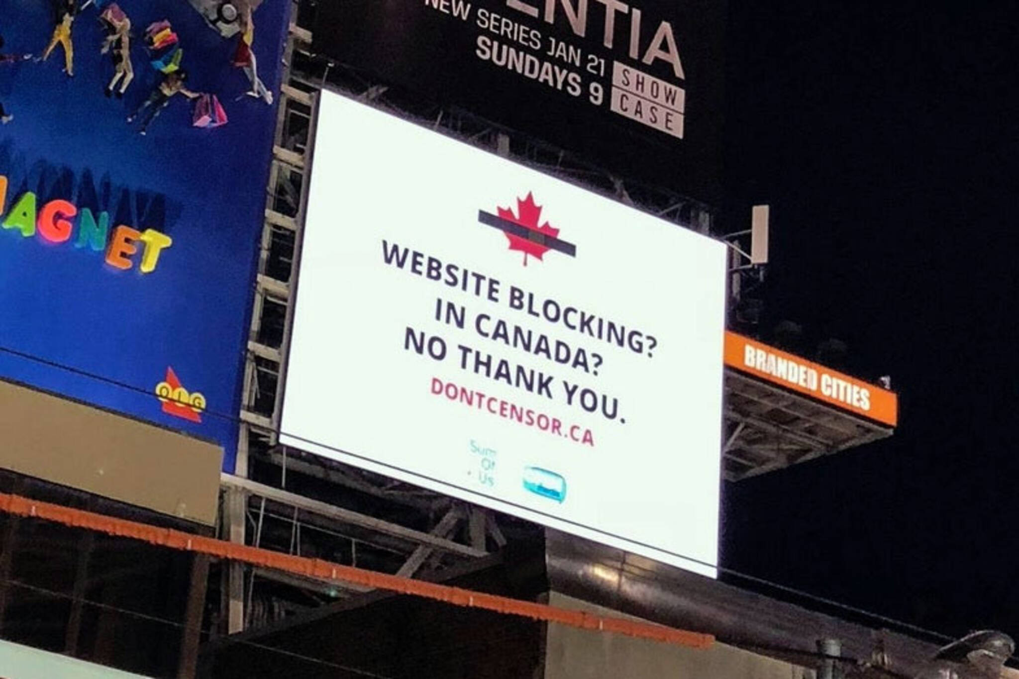 Internet censorship Canada