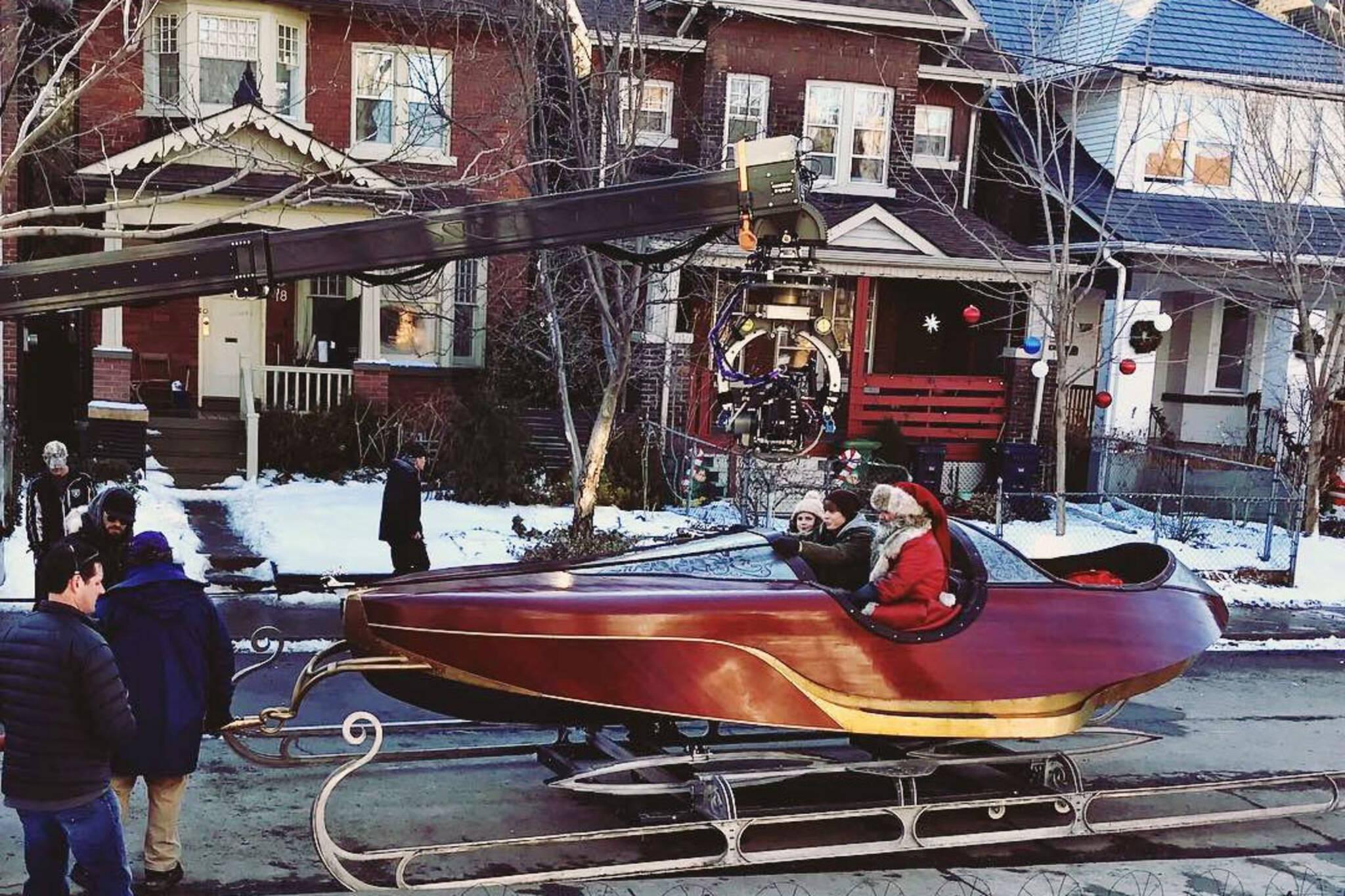 Kurt Russell Santa